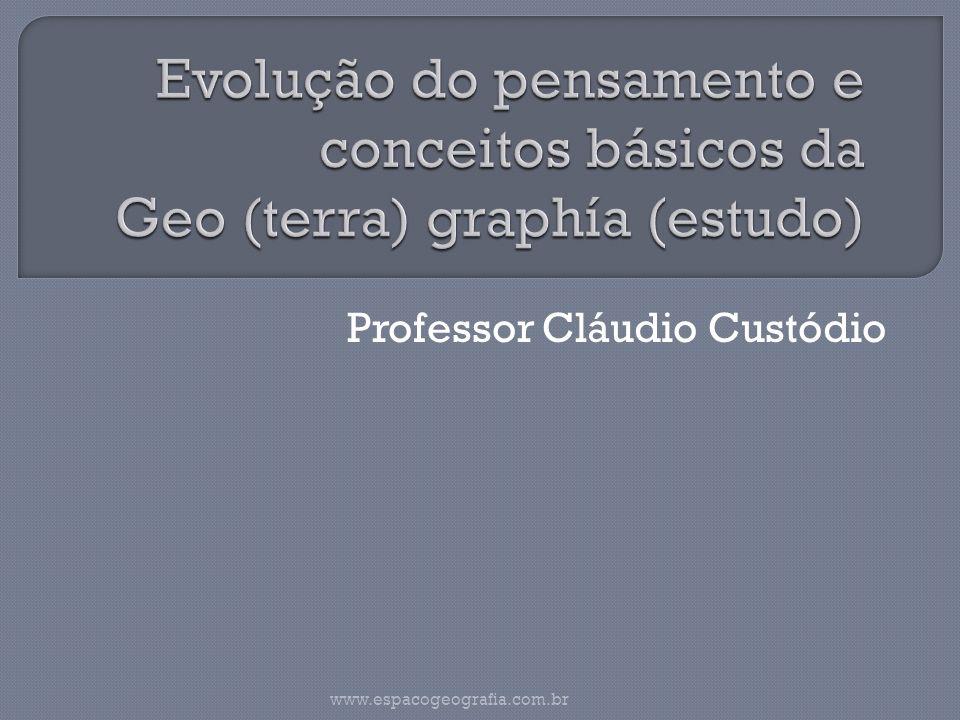 Professor Cláudio Custódio