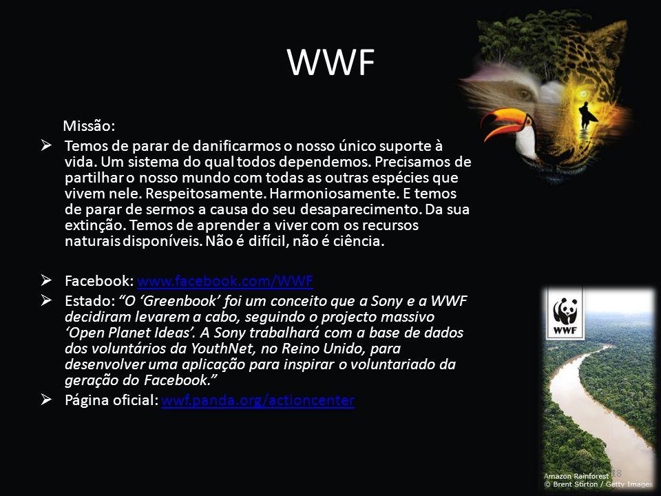 WWF Missão: