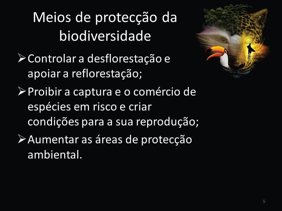 Meios de protecção da biodiversidade