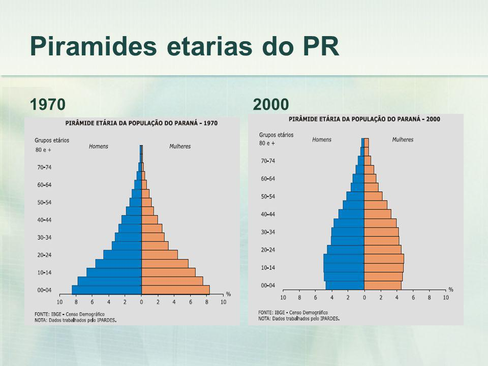 Piramides etarias do PR