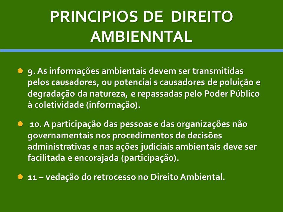 PRINCIPIOS DE DIREITO AMBIENNTAL