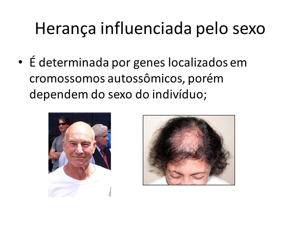 Herança influenciada pelo sexo