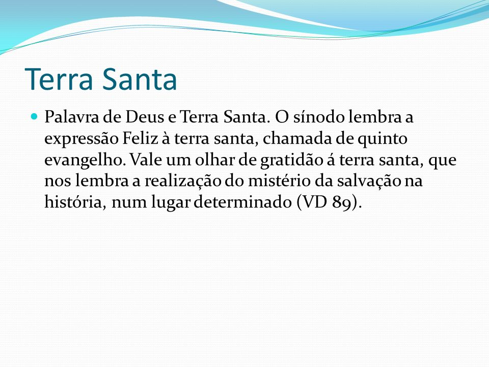 Terra Santa