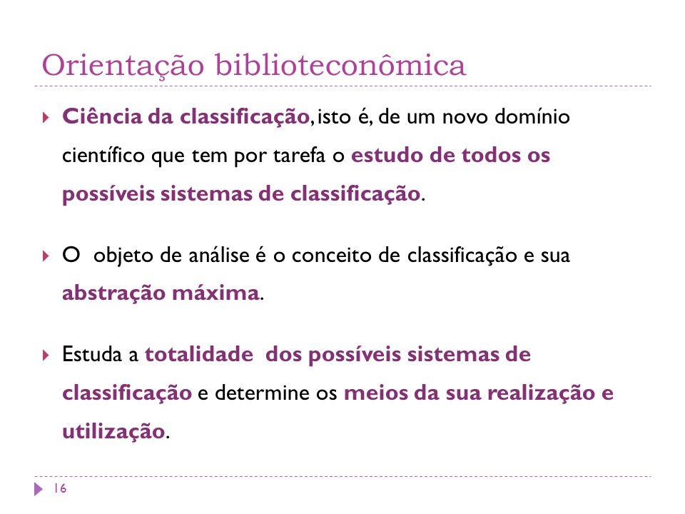 Orientação biblioteconômica