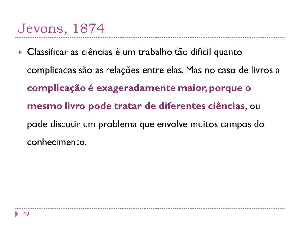 Jevons, 1874