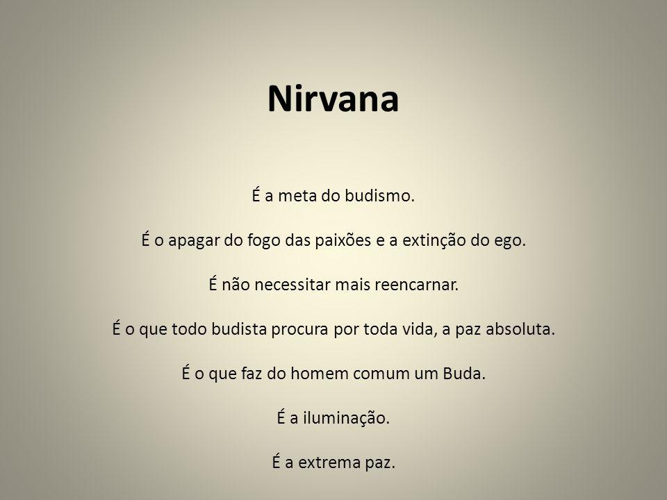 Nirvana É a meta do budismo