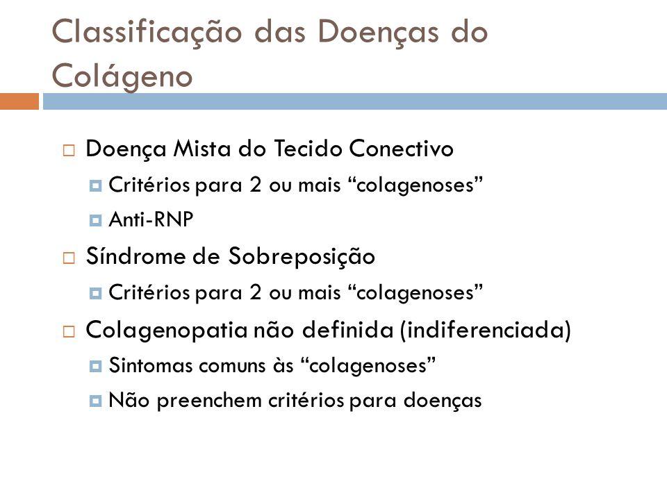 Classificação das Doenças do Colágeno