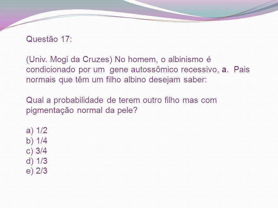 Questão 17: (Univ.
