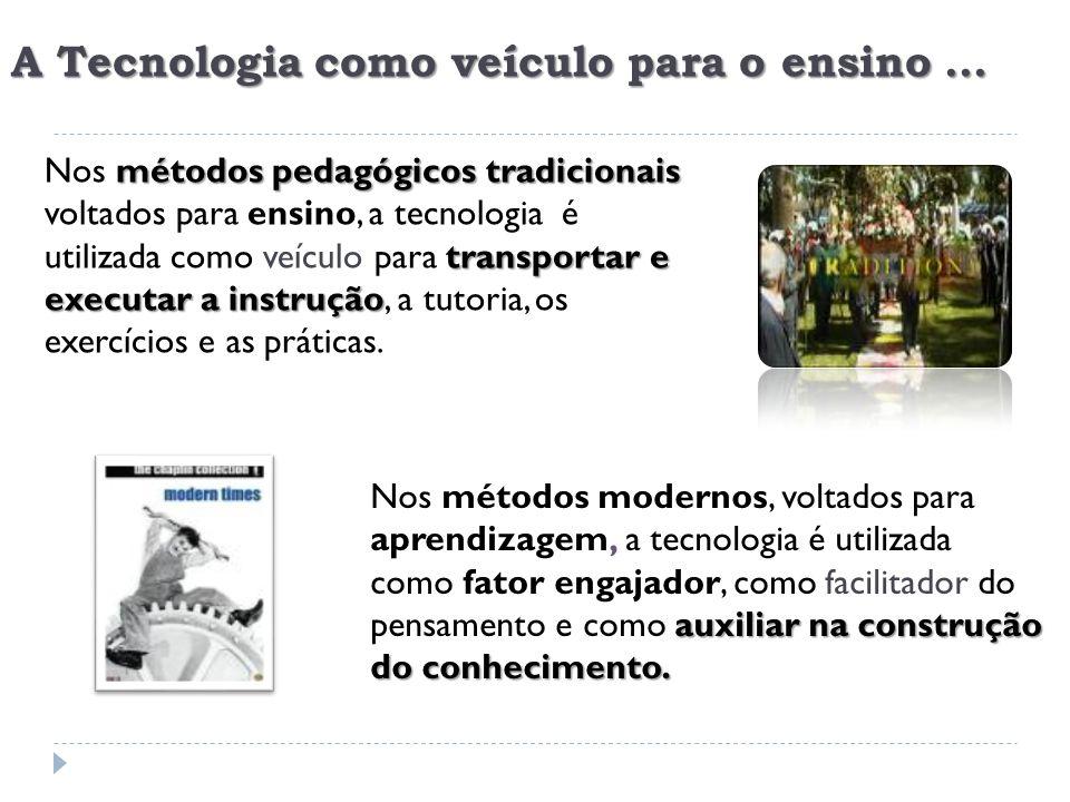 A Tecnologia como veículo para o ensino ...