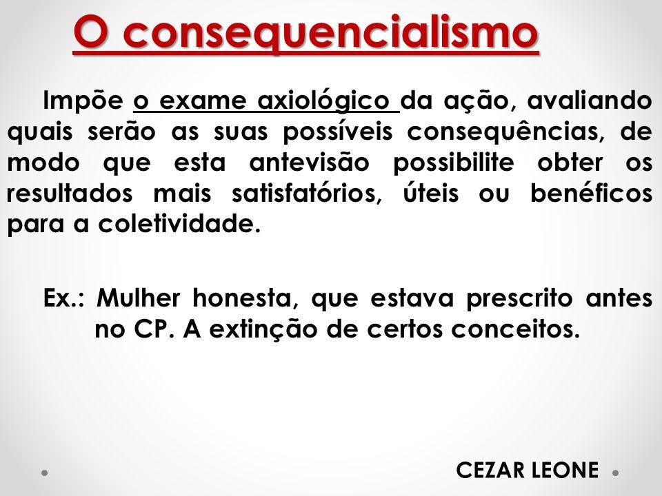 O consequencialismo