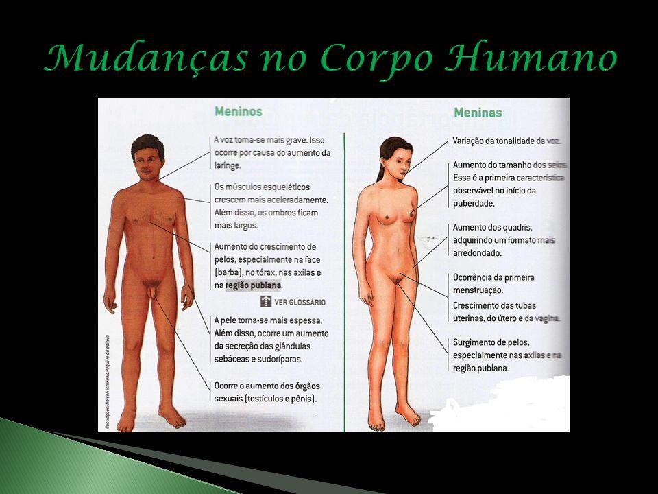 Mudanças no Corpo Humano