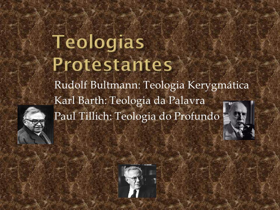 Teologias Protestantes