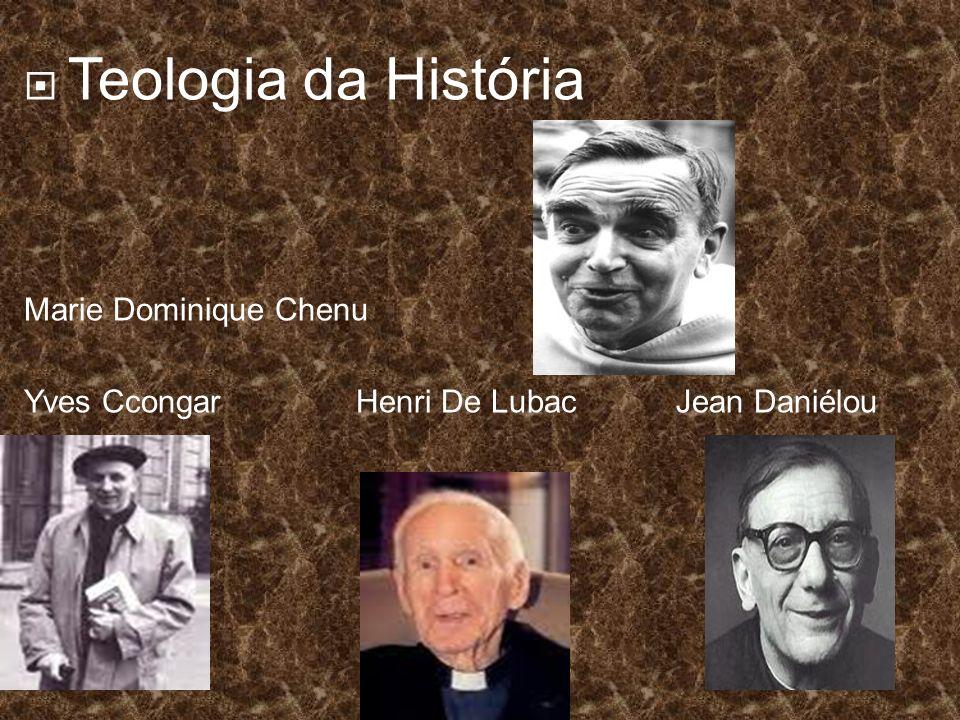 Teologia da História Marie Dominique Chenu