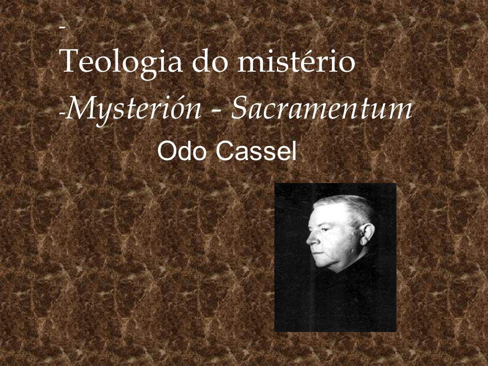 Mysterión - Sacramentum