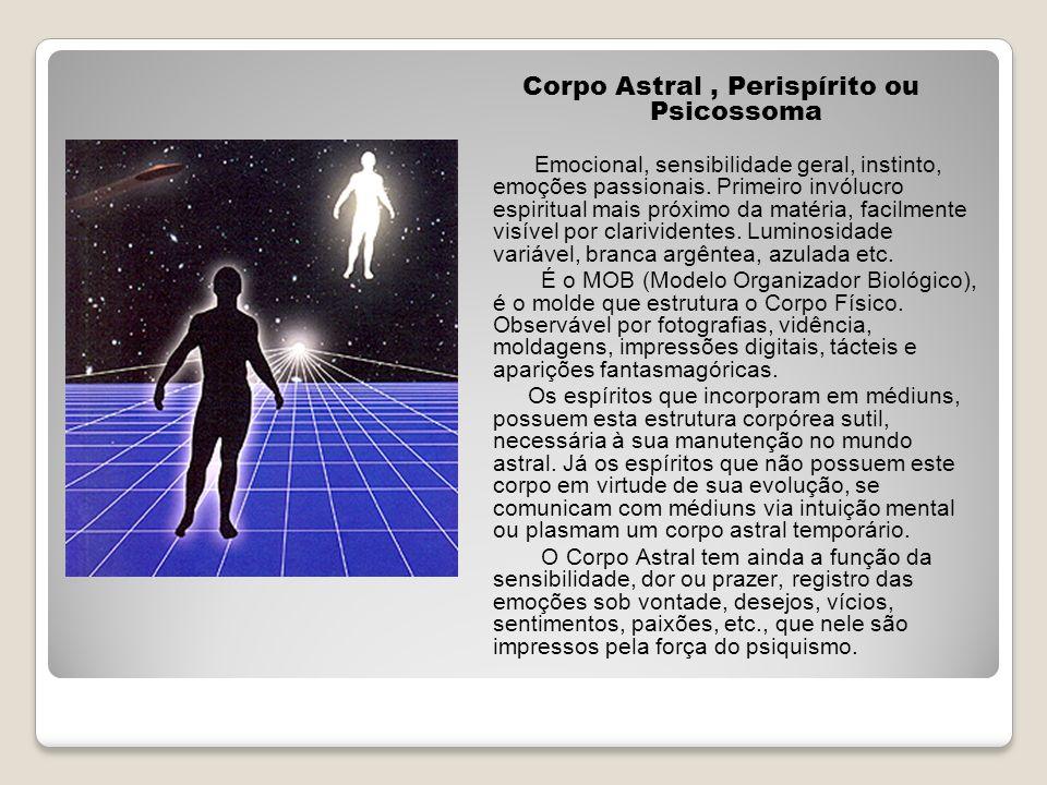Corpo Astral , Perispírito ou Psicossoma