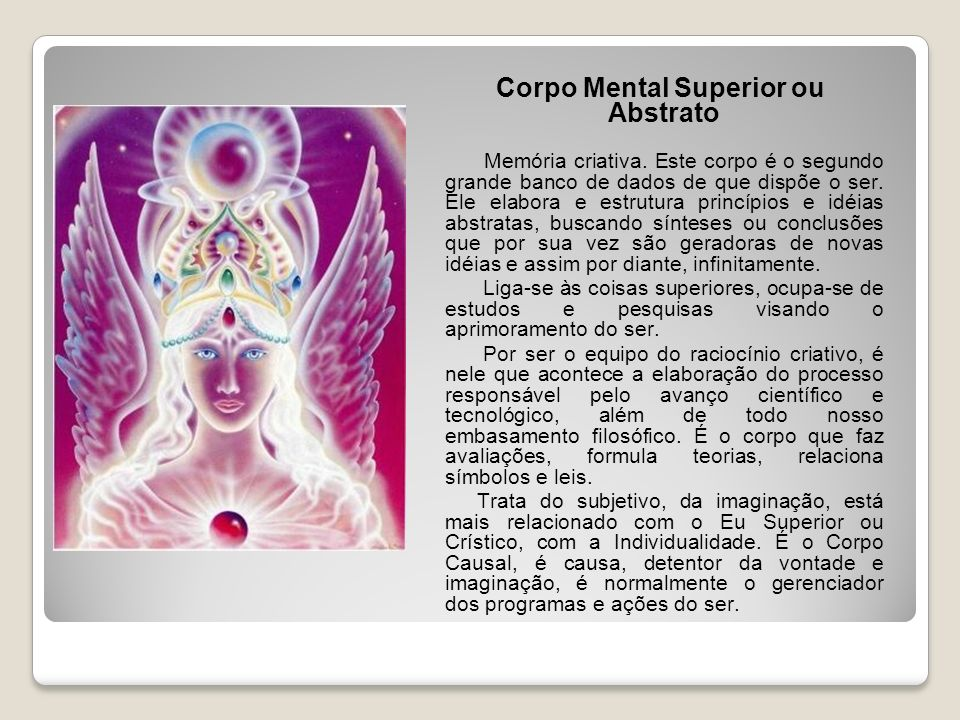 Corpo Mental Superior ou Abstrato