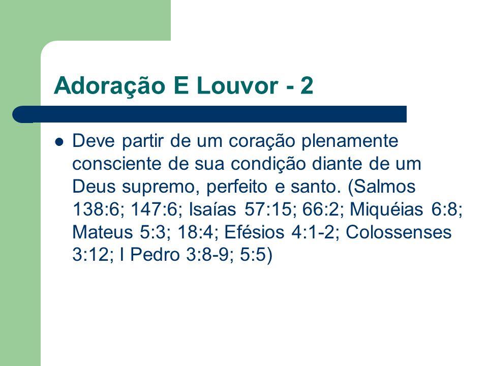 Adoração E Louvor - 2