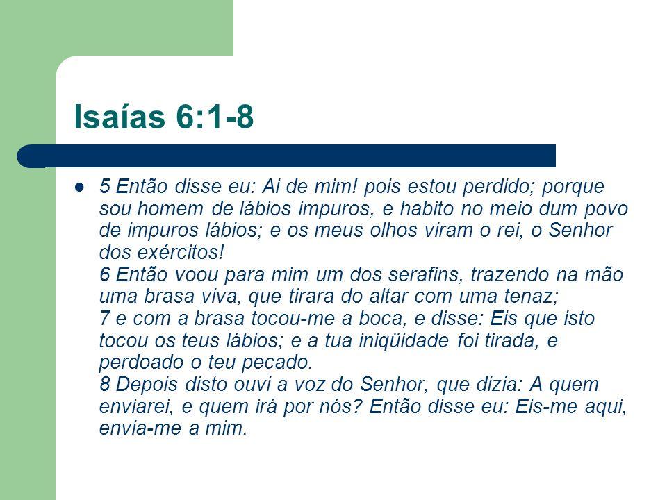 Isaías 6:1-8