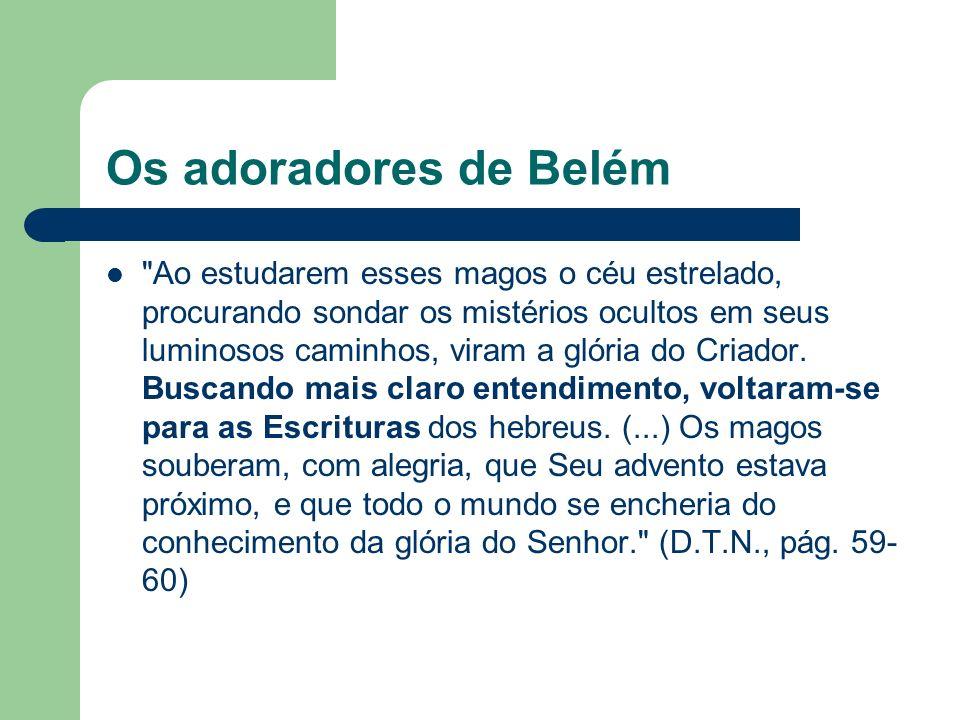 Os adoradores de Belém