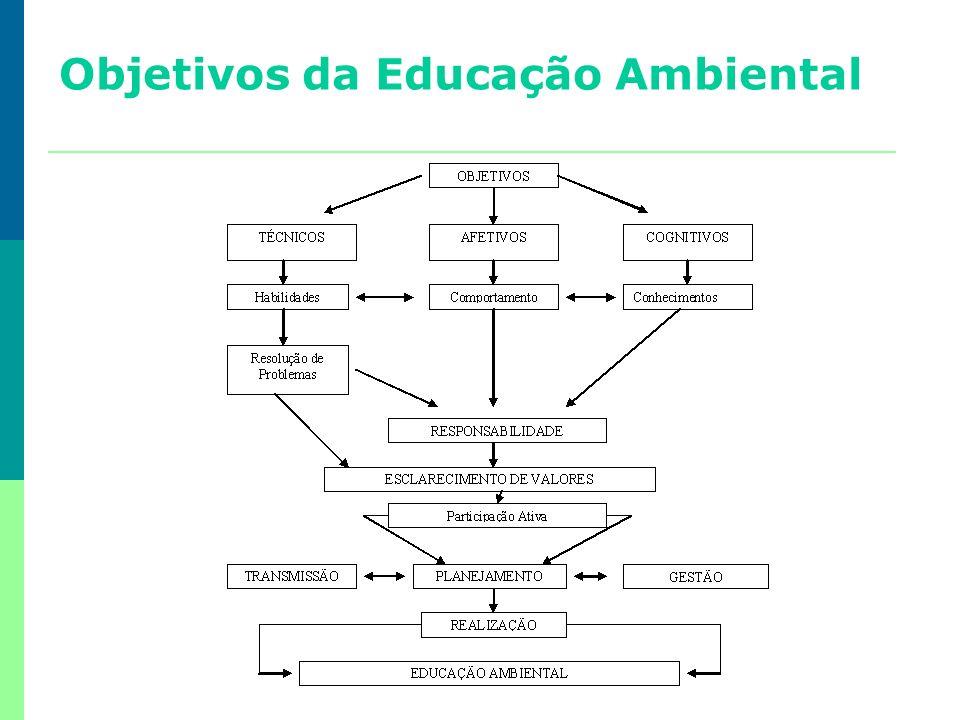 Objetivos da Educação Ambiental