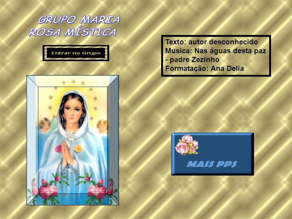 Texto: autor desconhecido Musica: Nas águas desta paz - padre Zezinho