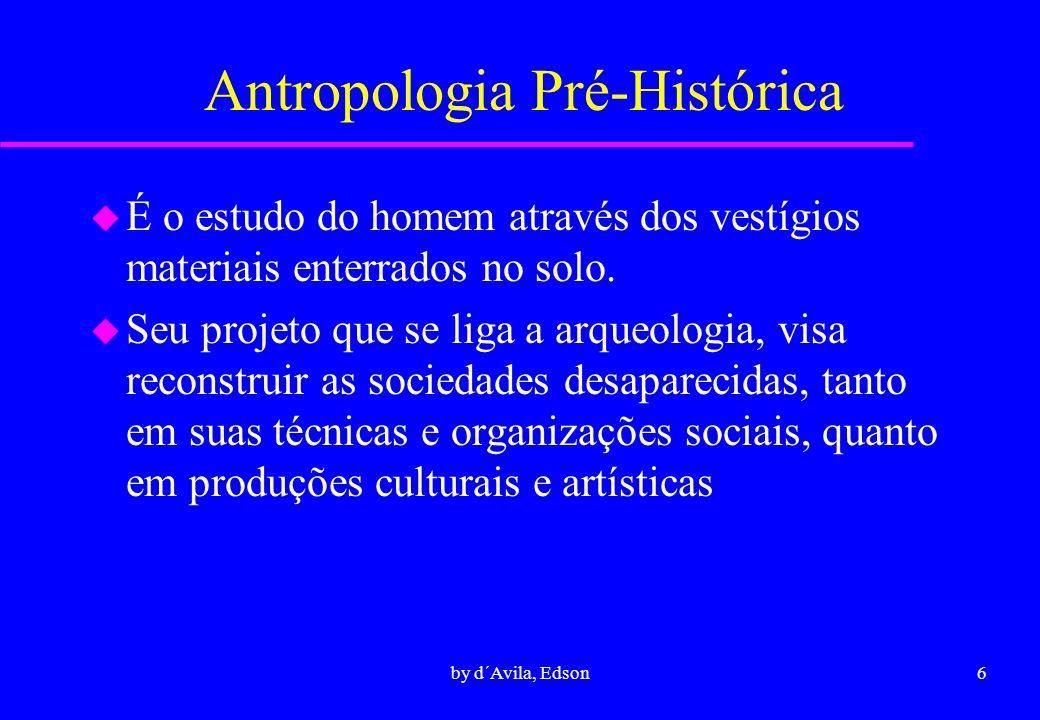 Antropologia Pré-Histórica