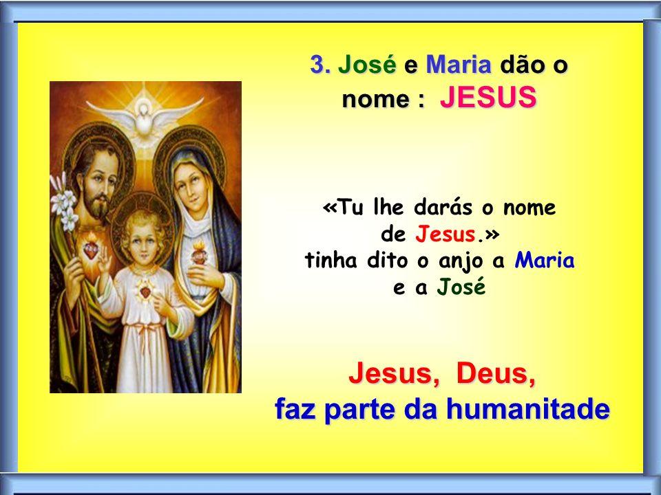 Jesus, Deus, faz parte da humanitade