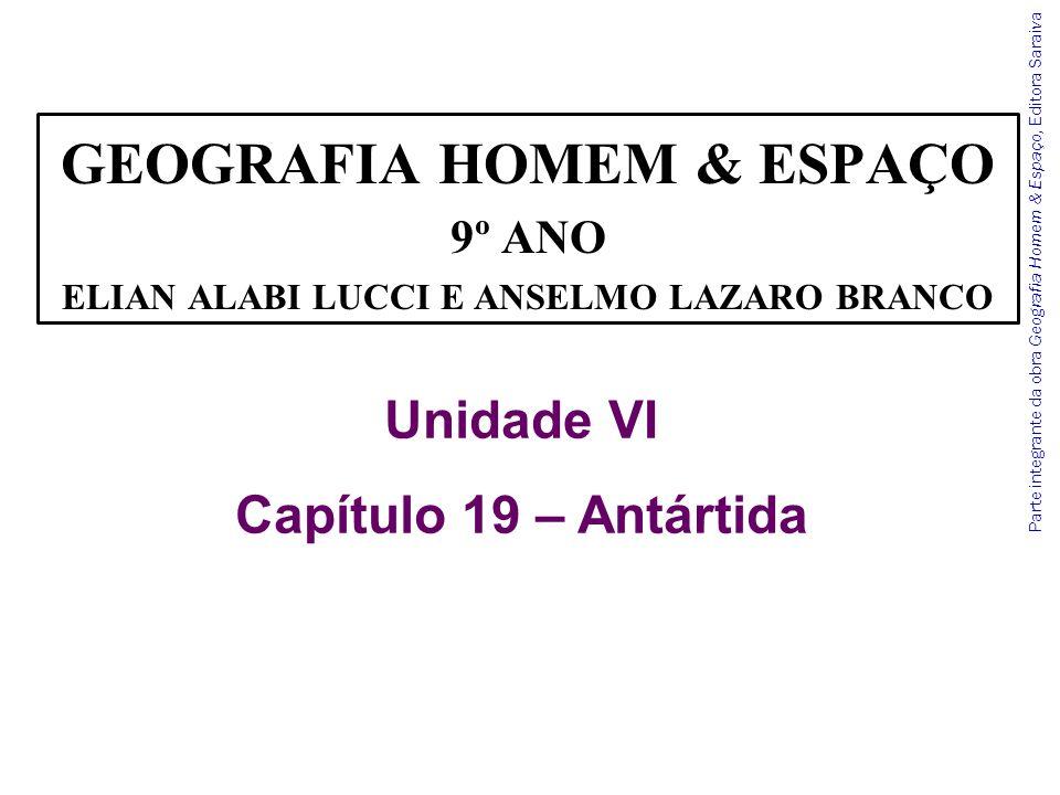GEOGRAFIA HOMEM & ESPAÇO ELIAN ALABI LUCCI E ANSELMO LAZARO BRANCO