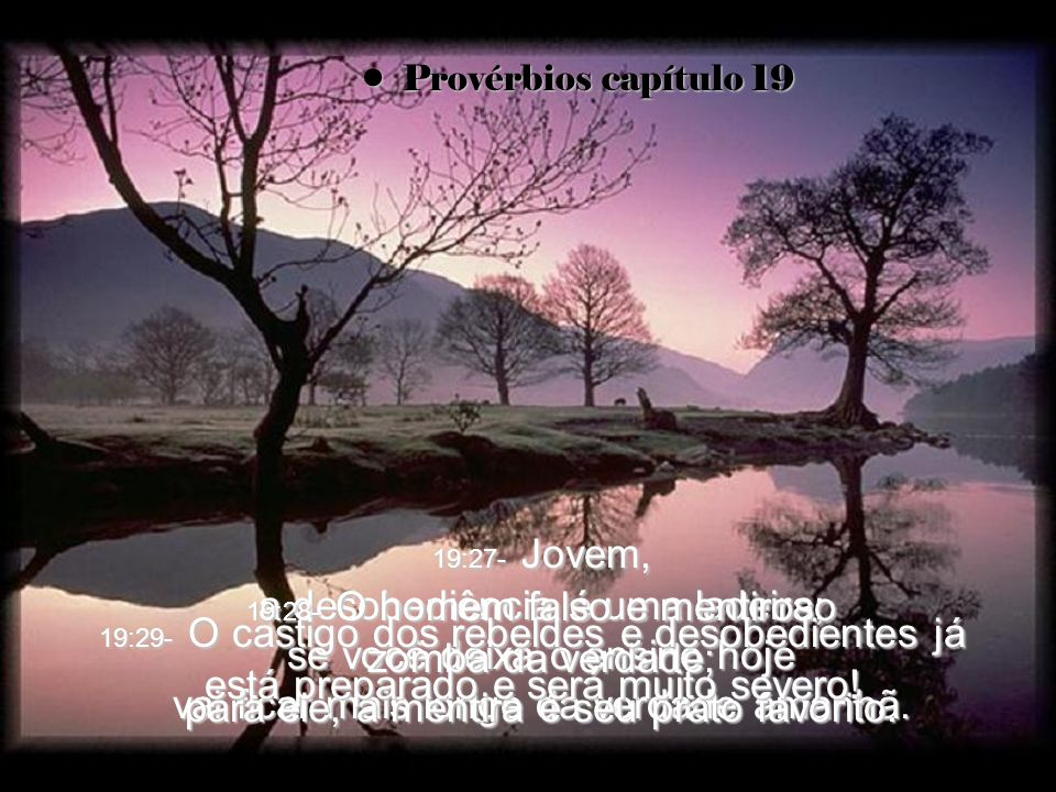 Provérbios capítulo 19