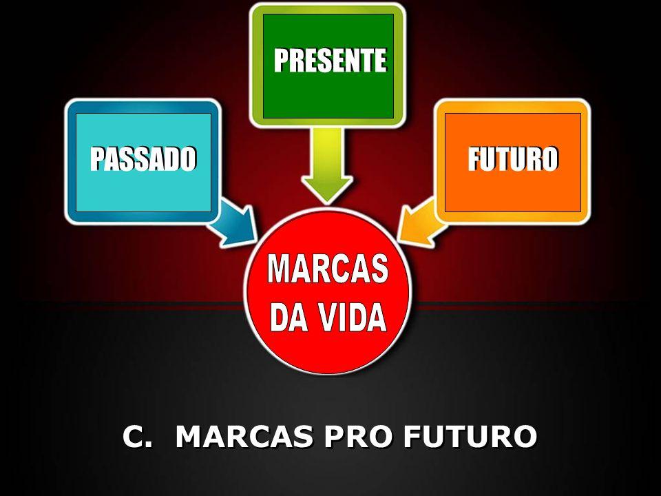 PRESENTE PASSADO FUTURO MARCAS DA VIDA C. MARCAS PRO FUTURO