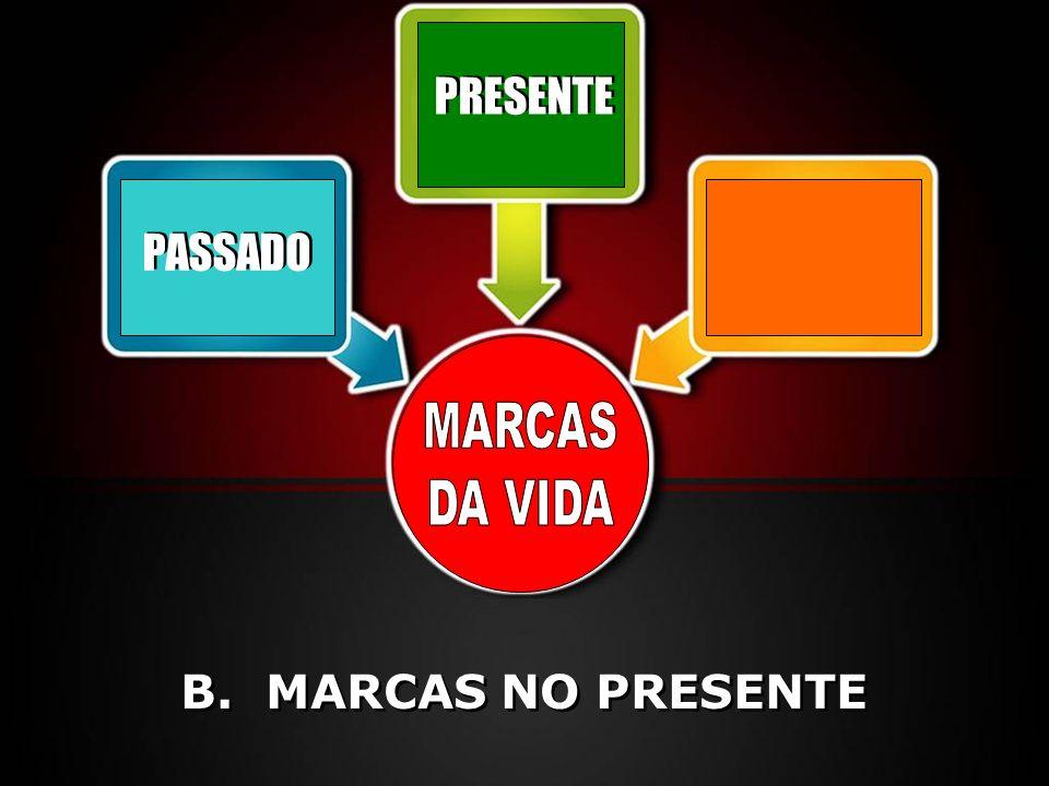 PRESENTE PASSADO MARCAS DA VIDA B. MARCAS NO PRESENTE