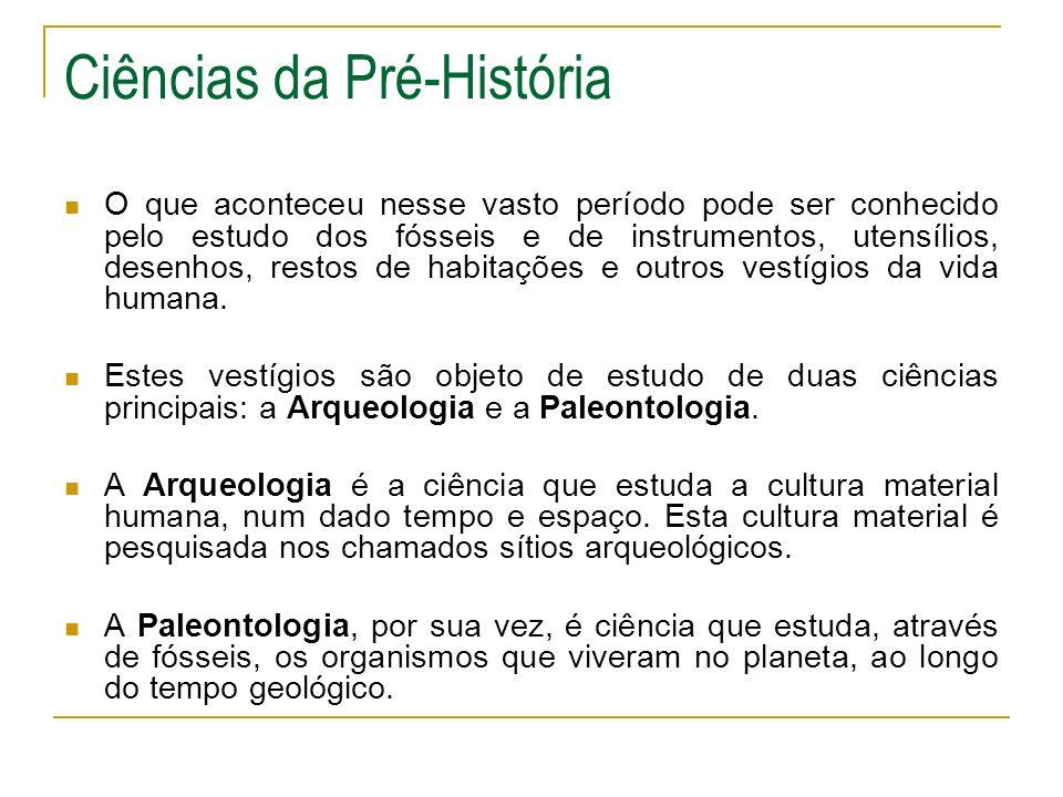 Ciências da Pré-História