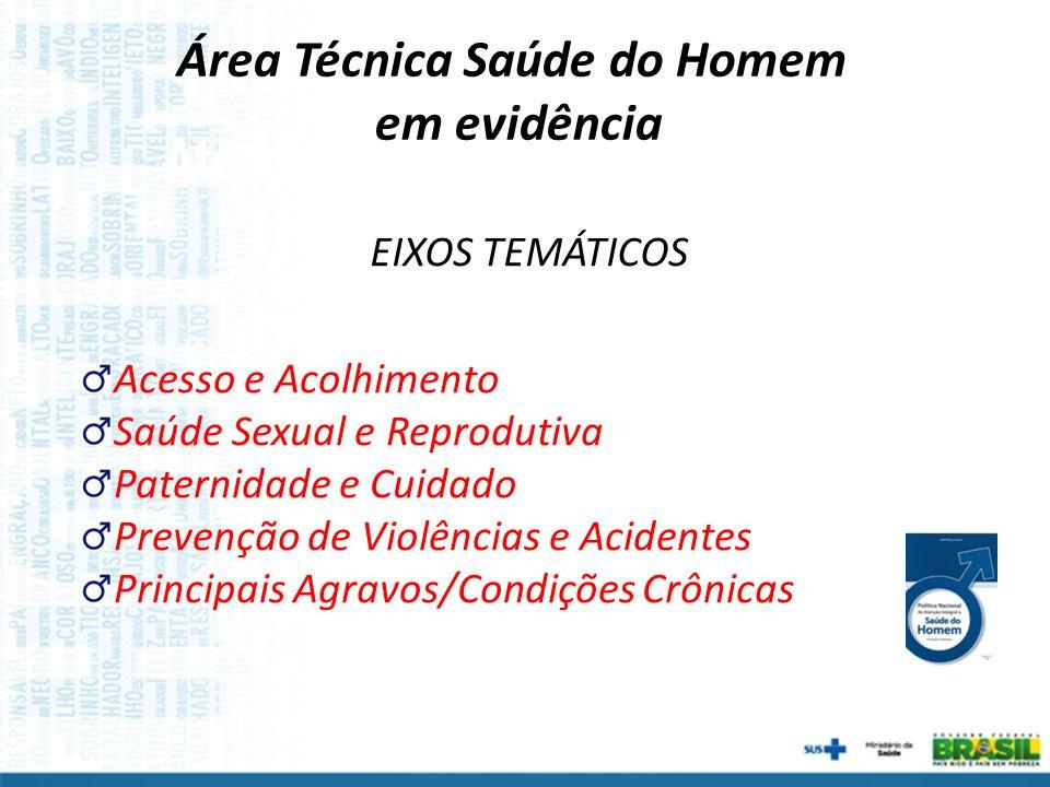 Área Técnica Saúde do Homem