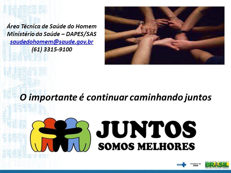 Área Técnica de Saúde do Homem Ministério da Saúde – DAPES/SAS