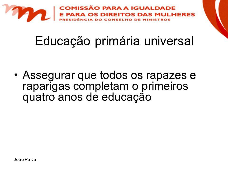 Educação primária universal