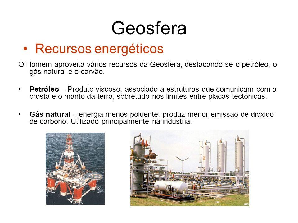 Geosfera Recursos energéticos