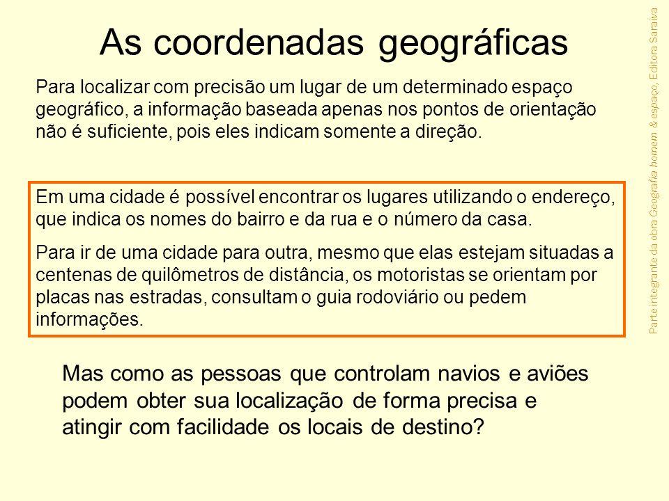 As coordenadas geográficas