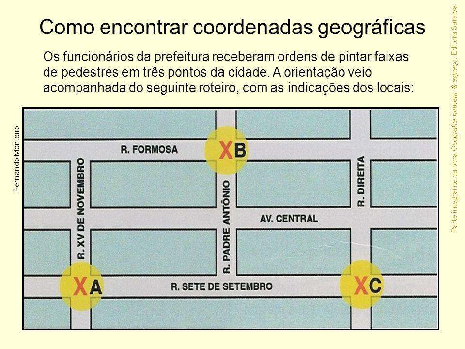 Como encontrar coordenadas geográficas