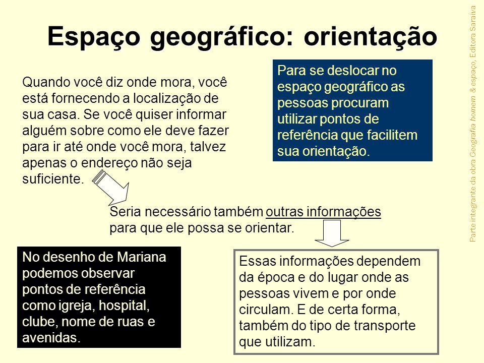 Espaço geográfico: orientação