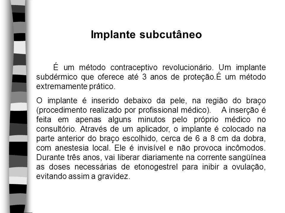Implante subcutâneo