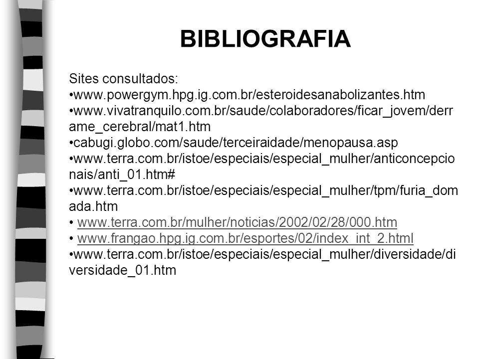 BIBLIOGRAFIA Sites consultados: