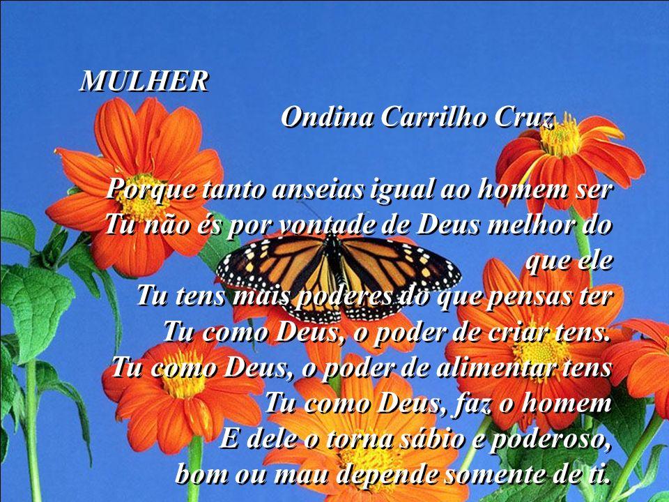 MULHER Ondina Carrilho Cruz