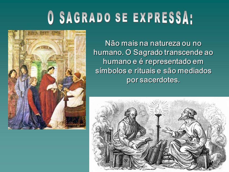 O SAGRADO SE EXPRESSA: