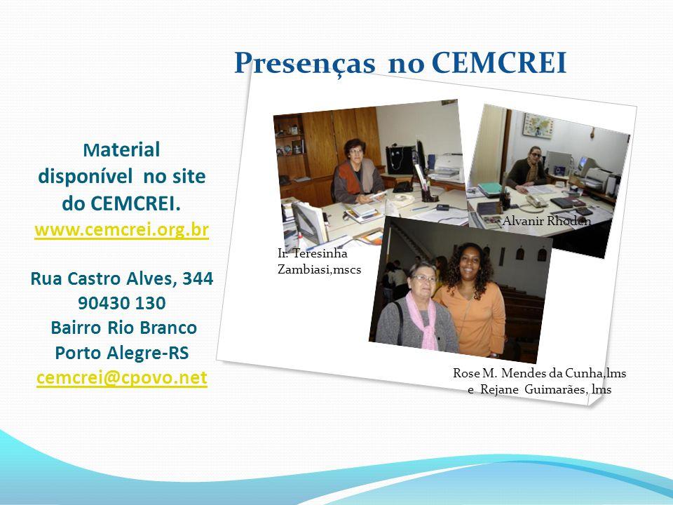 Rose M. Mendes da Cunha,lms