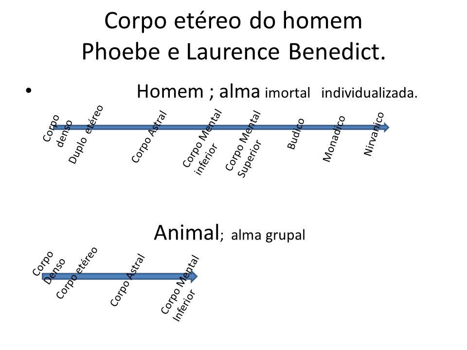 Corpo etéreo do homem Phoebe e Laurence Benedict.