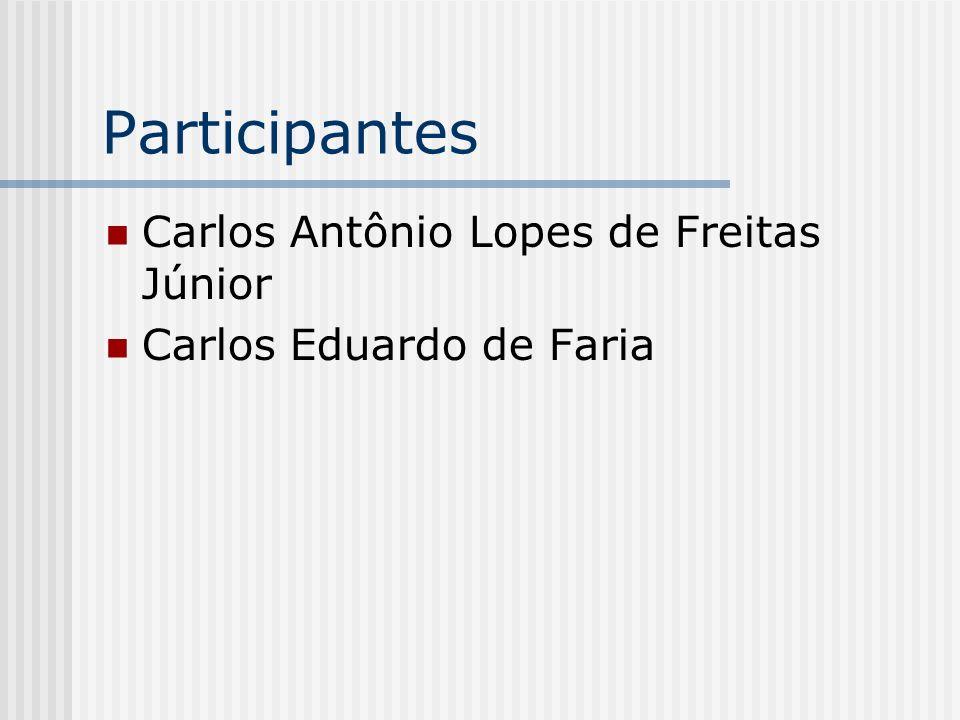 Participantes Carlos Antônio Lopes de Freitas Júnior