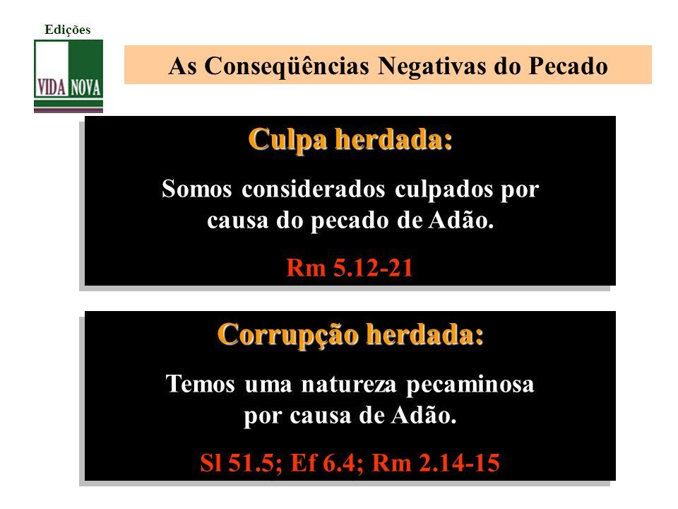 Culpa herdada: Corrupção herdada: