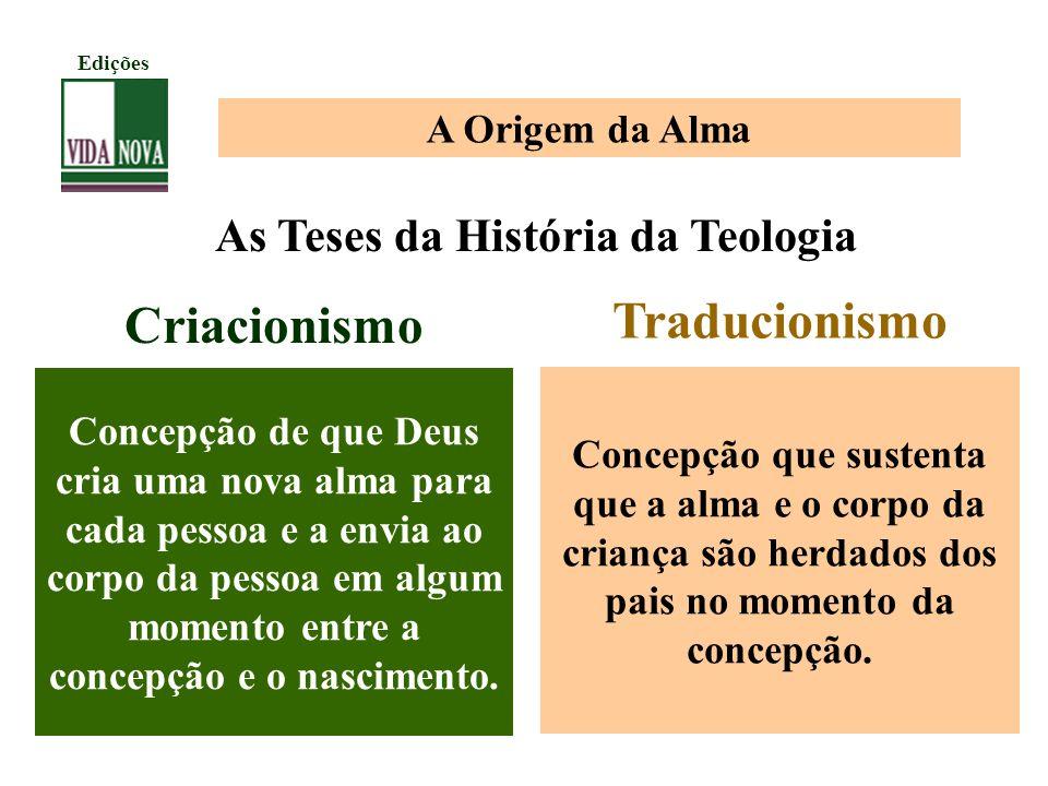 As Teses da História da Teologia