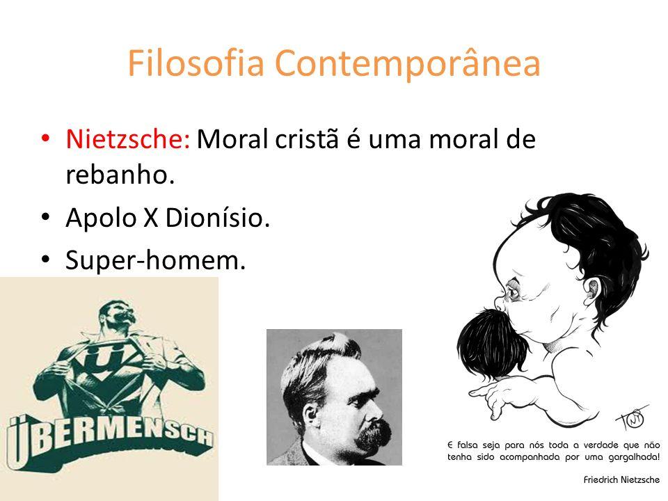 Filosofia Contemporânea