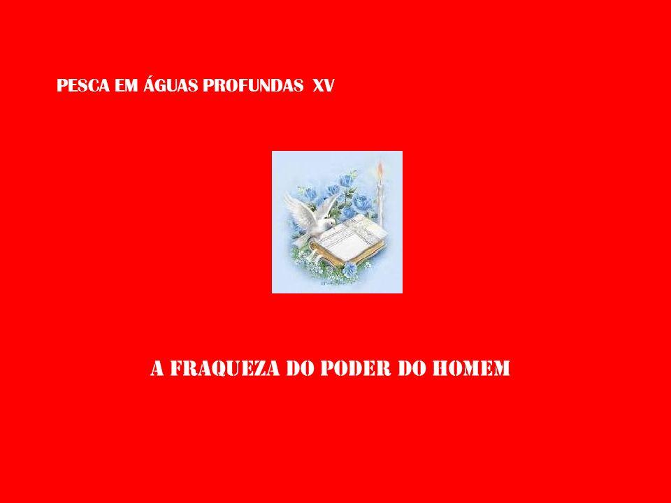 PESCA EM ÁGUAS PROFUNDAS XV